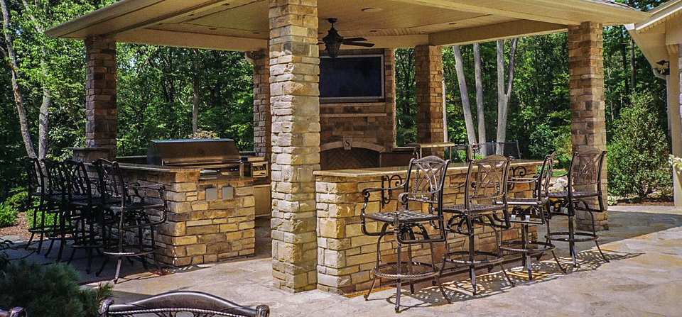 Residential Natural Stone : Residential masonry natural stone homes nj fierro