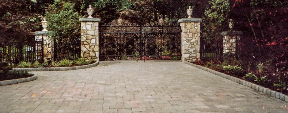 paver driveway installation masonry company nj